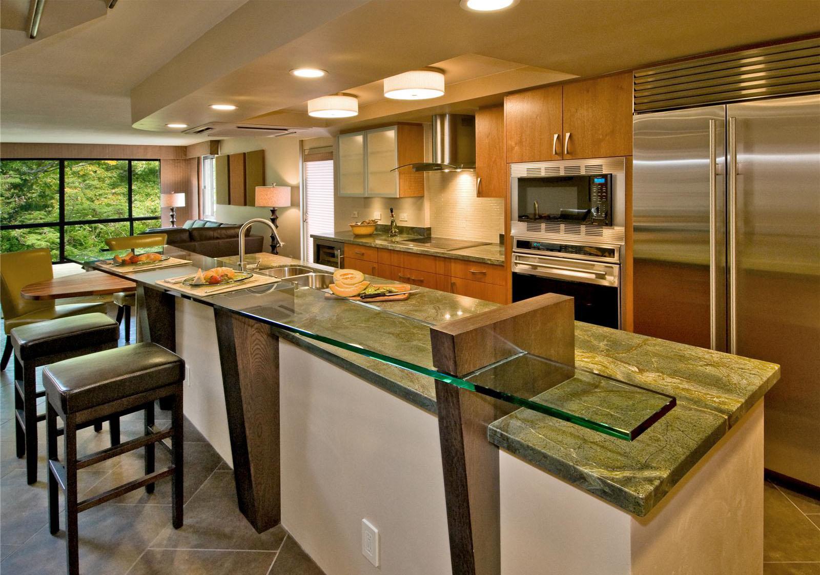 open contemporary kitchen design ideas kitchen design Via Homeportfolio