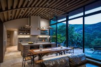 Rustic Modern Country House in Santa Barbara with Curved ...