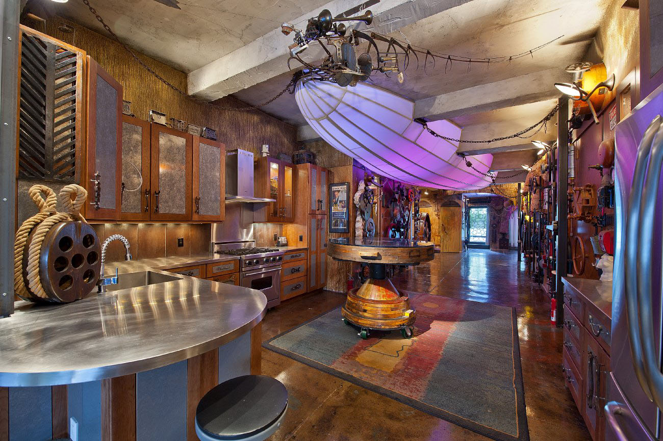 New york loft apartment 120 west 29th street welcome to the surreal steampunk apartment where jules verne meets tim