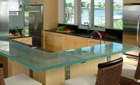 Glass Kitchen Countertops By ThinkGlass | iDesignArch ...