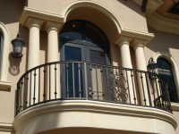 Wrought Iron Balconies With Architectural Appeal ...