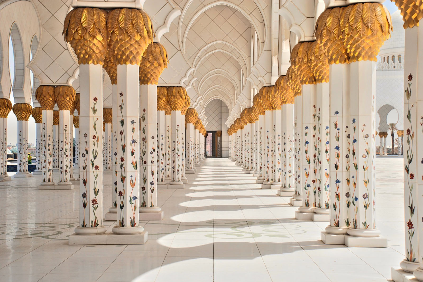3d Wallpaper Of Madina Sheikh Zayed Grand Mosque Abu Dhabi Idesignarch