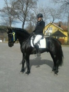 Celina och Black Shadow