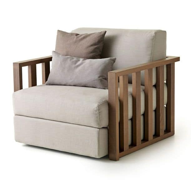 Modernes Design Sessel Aus Massivholz, Für Wohnzimmer IDFdesign   Lounge  Sessel Modernem Design