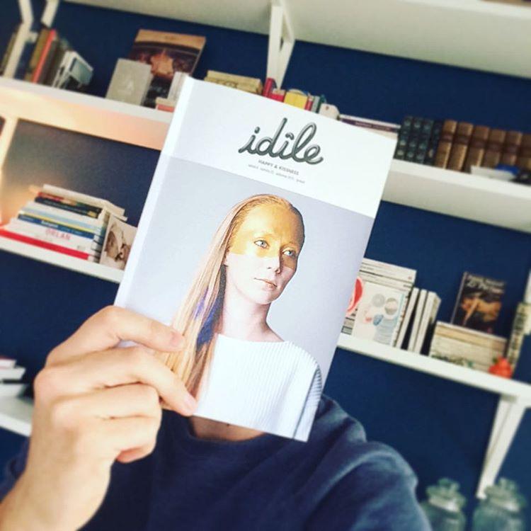 Le numero 25 est sorti ! idle magazine free Nanteshellip