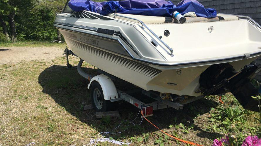 Frame for boat cover