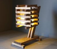 10 Inventive Ideas of Wood Pallet Lamps  iD Lights