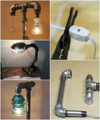 DIY: How to Make Pipe Lamp  iD Lights