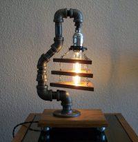 Industrial Art DIY Pipe Lamp  iD Lights