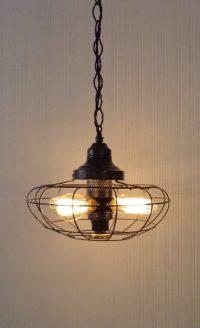 One-of-a-kind Fan Rustic Vintage Chandelier  iD Lights