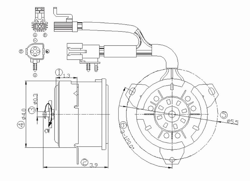 1998 ford crown victoria Motor diagram