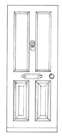 Wooden front door plans ~ from nature