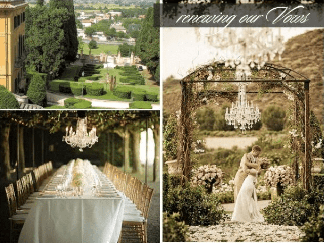 vow renewal outdoors
