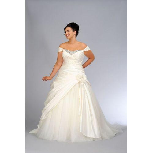 Medium Crop Of Plus Size Wedding Dresses
