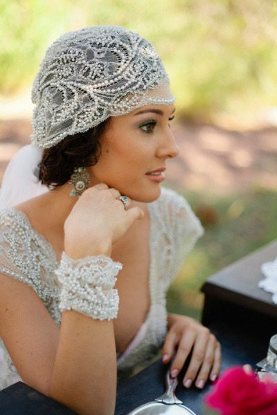I do take two classic pretty headpieces for older brides for Wedding accessories ideas