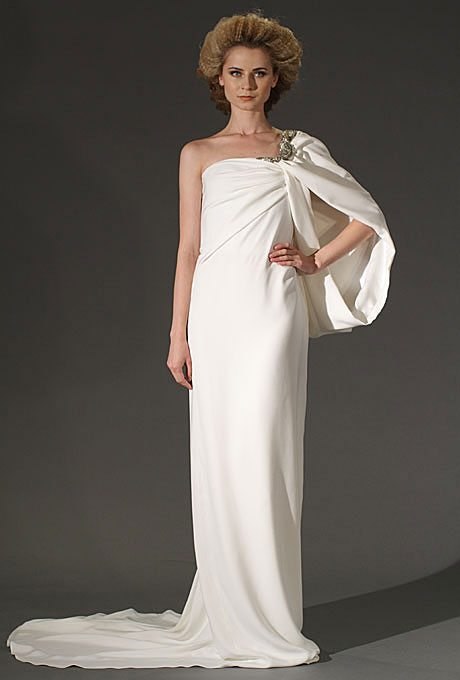 I do take two gorgeous grecian wedding gowns for your for Toga style wedding dress