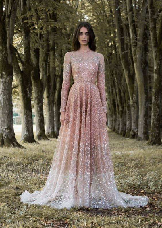 If you're inspired by sparklers, you'll want to take a dive into this full-coverage stunner.