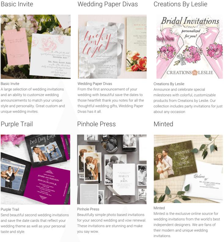 wedding invitation sites