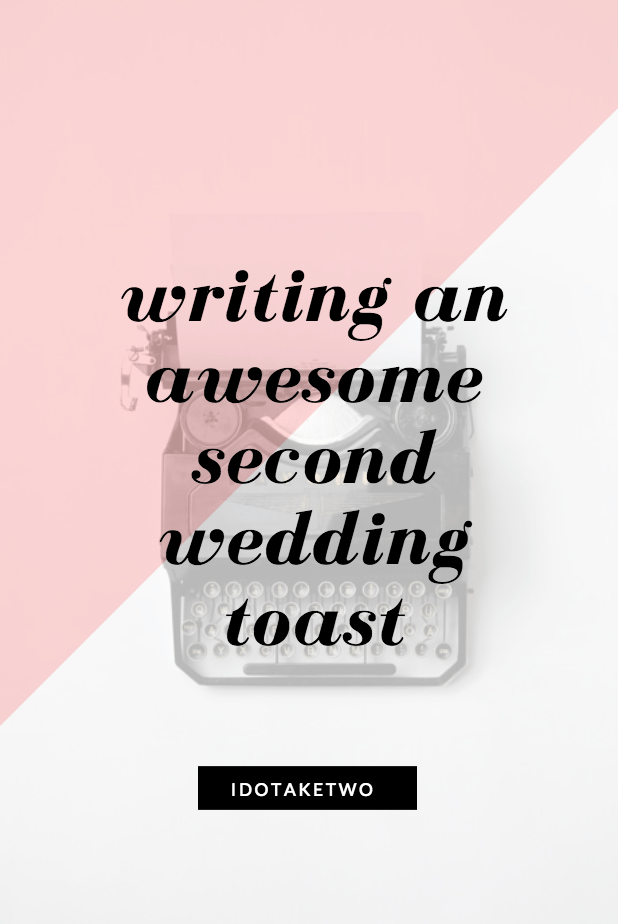 second marriage toast