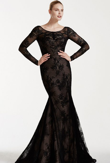Black is timeless, and that goes for weddings too, it's sophisticated and slick for brides with an elegant spirit.