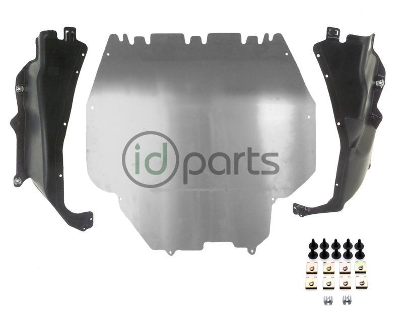 Belly Pan  Sideskirts Underbody Set w/ Hardware (A4) - IDParts