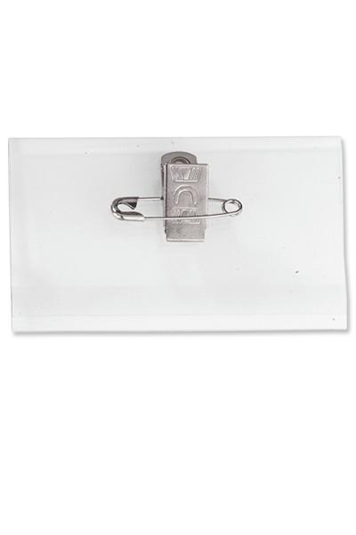 Name Tag Holder With Pin Clip Combo