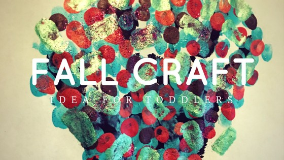 Fall Craft Idea for Toddlers