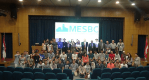 MESBC - June 2013 - At the opening Ceremony