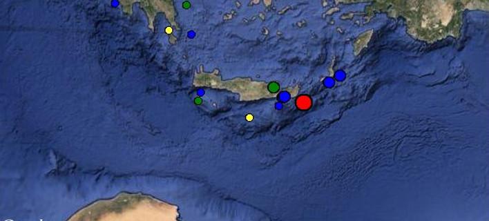 Σεισμός 4,3 βαθμών στο Λασίθι
