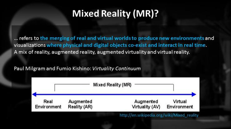 Mixed Reality and the Theatre of the Future IETM