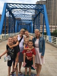 Julia family visit