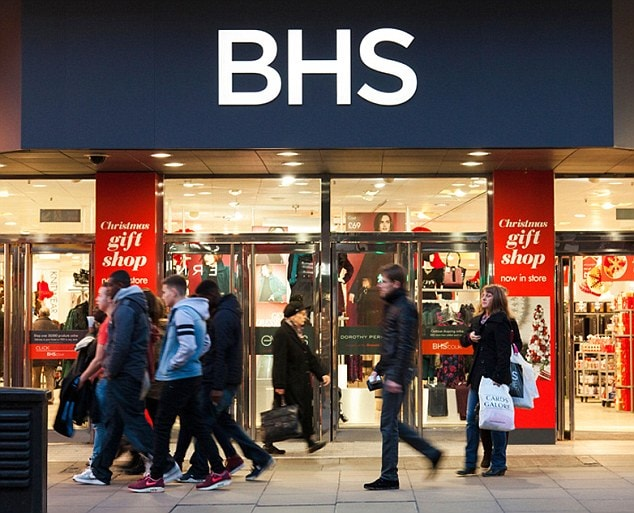£517m Pension Black Hole Brings Down Bhs