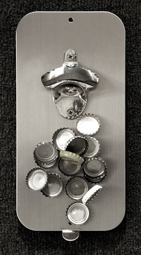 The CLINK N DRINK bottle opener - It's mega magnetic.