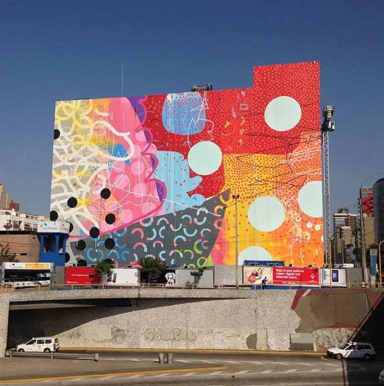 HENSE mural in Lima Peru hero IIHIH