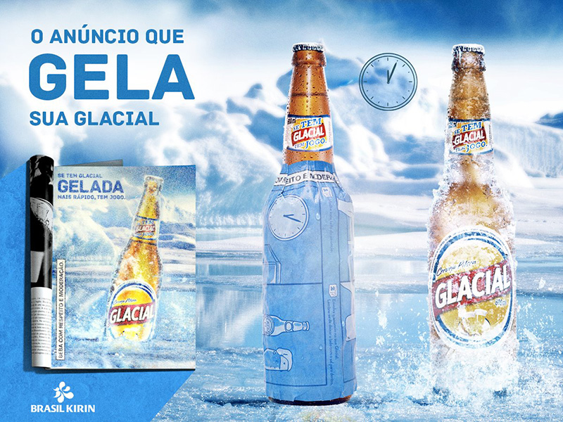 Brazil Girl Wallpaper This Latest Innovative Print Ad For Glacial Beer Will