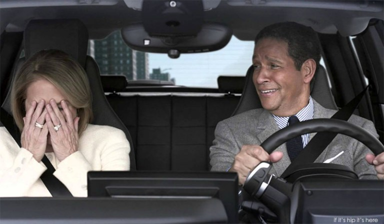 Katie Couric & Bryant Gumbel In BMW super bowl ad
