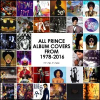 All The Prince Album Covers In Chronological Order