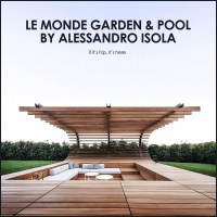 An Outrageously Cool Outdoor Space for Le Monde Winery