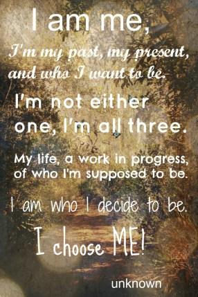 I Choose Me!