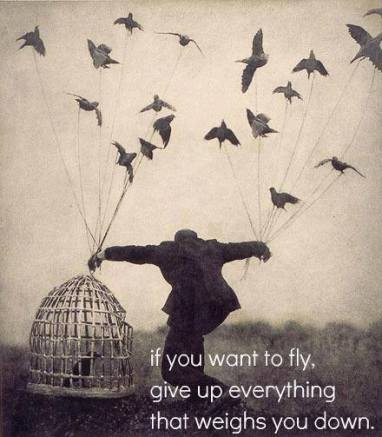 letting go of what no longer serves you