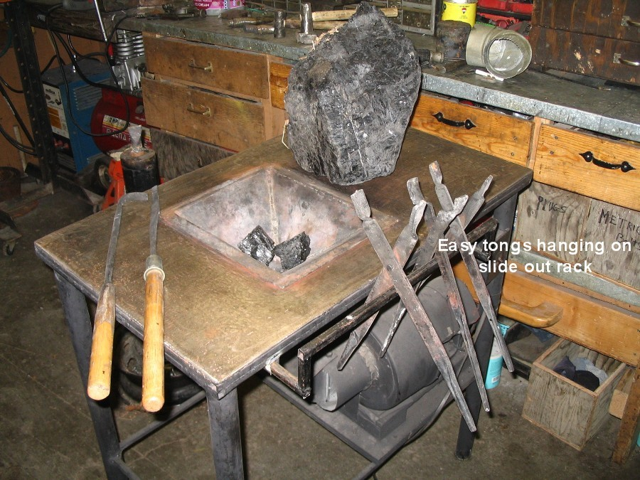 Homemade Coal Forge On A Budget Alaska Blacksmith