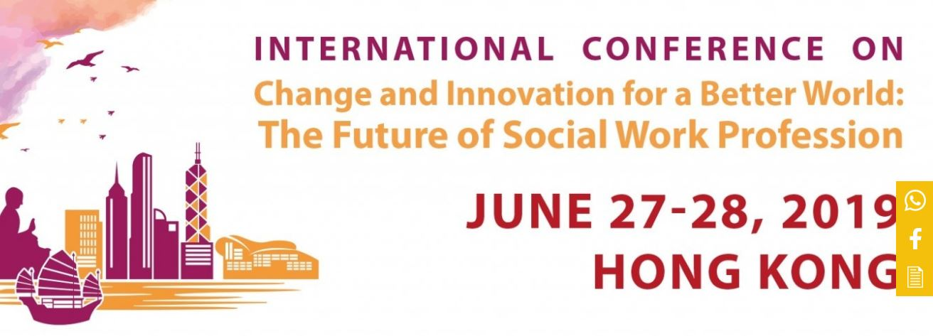 Change and Innovation for a Better World The Future of Social Work