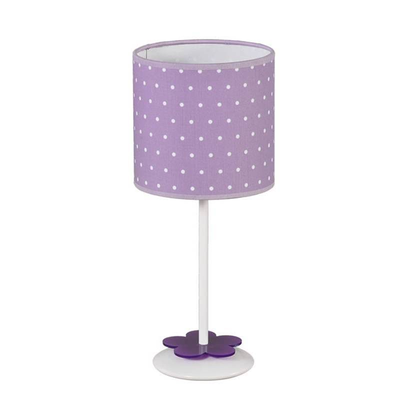 ANPERBAR Topitos children table lamp 1L lilac shade