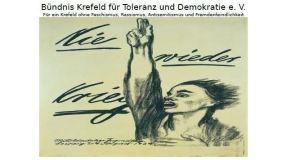 Gedenkveranstaltung zum Tag der Befreiung am 08. Mai 2017, 17h00 auf dem neuen Friedhof Krefeld