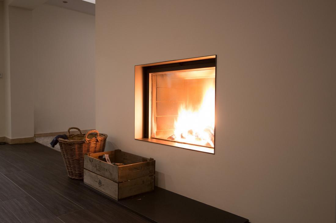 Ignite Stoves Fireplaces Stuv 21 95 Double Sided Wood