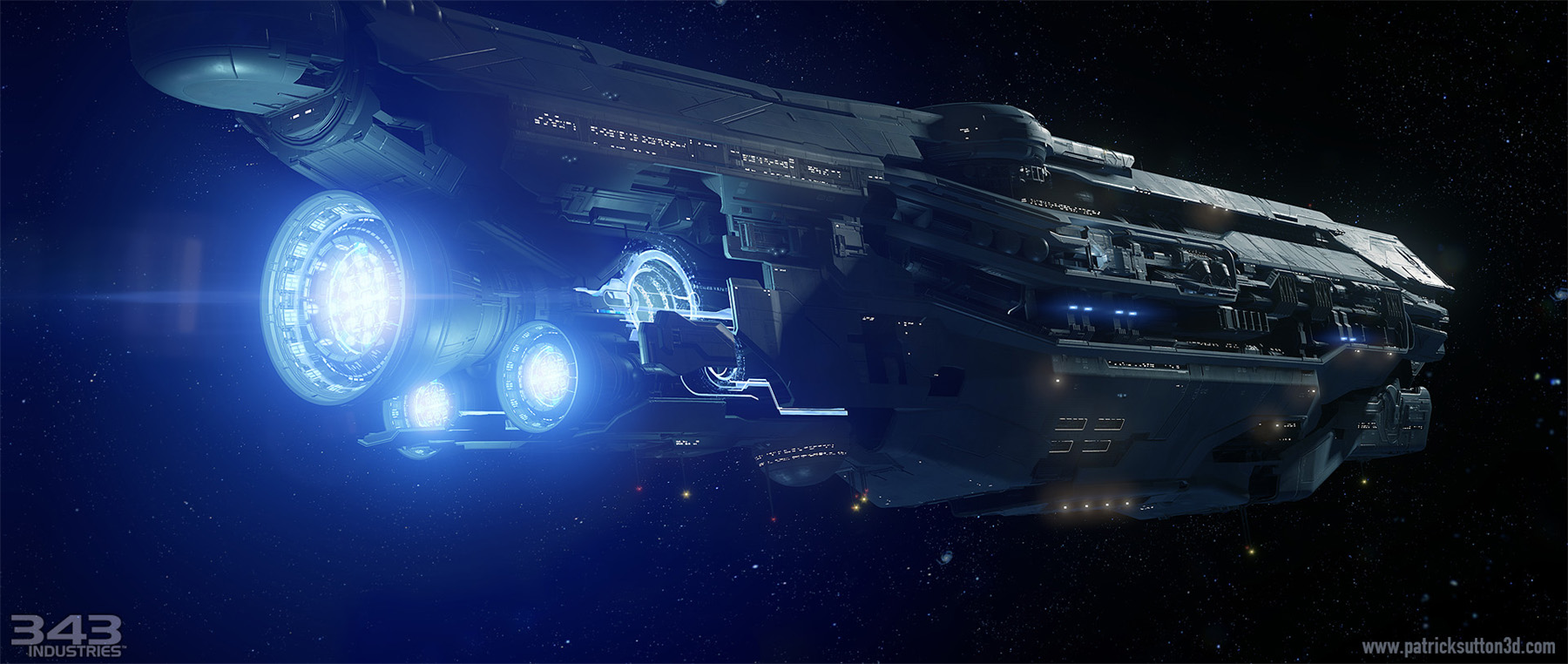 Mass Effect Fall Wallpaper Concept Ships Unsc Infinity By Patrick Sutton