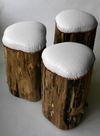 Stump Stools: A Sustainable Stool For Indoor And Outdoor ...