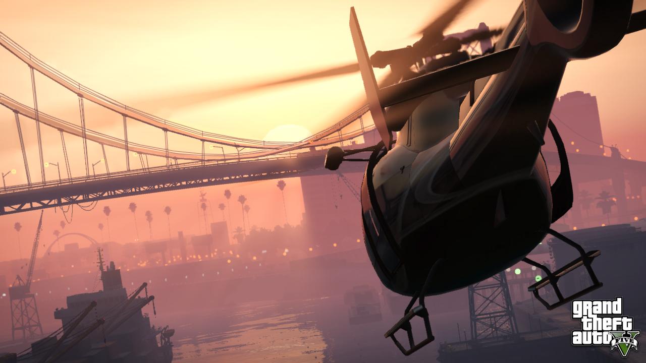 Helicopter Full Hd Wallpaper Game Informer S Gta V Issue Breakdown