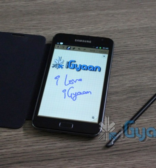 iGyaan Galaxy Note 6