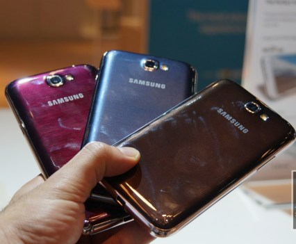 Galaxy Note 2 Colours 5